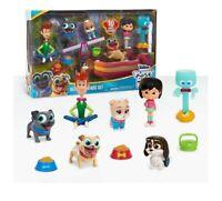 Puppy Dog Pals Deluxe Figure Set Bingo Rolly Keia Lollie Bob Chloe Disney Junior