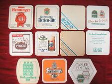 ★ ALT BIER Brauereien Düsseldorf 19x Bierdeckel Bierfilz - SAMMLER