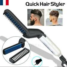 Peigne redresseur barbe électrique Brosses Lisseur Peigne à lisser lissant homme