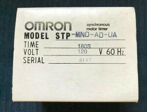 OMRON STP-MND-AD-UA *NEW* 180 SECOND TIMER 120VAC