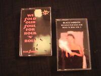 BLACK SABBATH - We Sold Our Souls - Vol. 1&2 / Cassette / Exc./ Hard Rock Metal