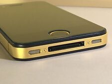 Apple iPhone 4s 16GB Gold Schwarz VIP