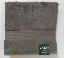 Ralph Lauren Greenwich Pebble Gray Individual Bath Towels~100% Cotton New