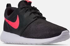 8b022318a7aa1 NEW Men s Nike Roshe Run One Black   Solar Red Size 11.5 511881 039