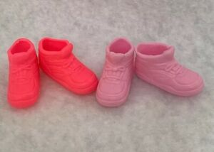 Barbie Doll Pink And Hot Pink High Tops Sneakers Shoes Loy Of 2