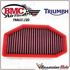 FILTRE À AIR SPORTIF LAVABLE BMC FM631/20 TRIUMPH SPEED TRIPLE 1050 R 2015