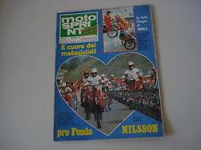 MOTOSPRINT 16/1979 TRANS-AMA TRANSAMA 125 REGOLARITA' WINNING/VIRGINIO FERRARI