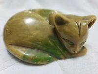 Baccerini Alabastri Portofino Cat Figurine (Pre-Owned)