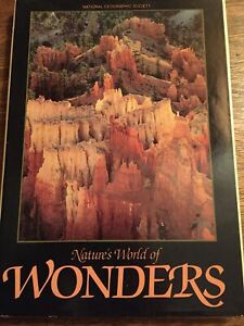 National Geographic Society Natures World Of Wonders Hardcover Book