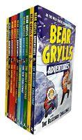Bear Grylls Adventure Series Mountain Challenge 10 Books Collection Set NEW