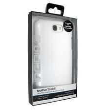 Nuevo Incipio Samsung Galaxy Note 2 II Blanco Brillo de la Pluma Ultra Fino