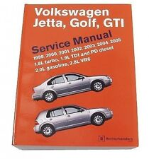 Volkswagen VW Jetta Golf GTI 1999-2005 Service Repair Manual Bentley
