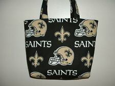 Handmade NFL New Orleans Saints Tote Purse Bag