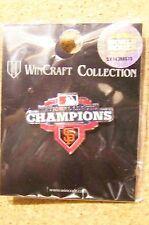 2012 SF S.F. San Francisco Giants National League Champions lapel pin N.L. champ
