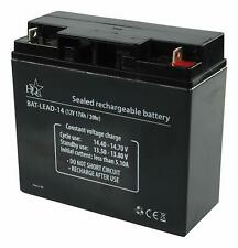 HQ 12V 17Ah Universal Sealed Rechargeable Lead Acid Battery
