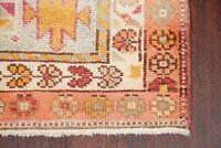 NEW 13 ft Oushak Turkish Runner Rug Oriental Hand-Knotted Retro Long Carpet 3x13