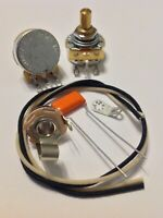 Wiring Harness Kit For P Bass CTS US Solid Shaft Pots .047uf 716P Orange Drop