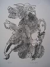 LAPICQUE Charles - Lithographie lithograph signée numérotée Socrate **