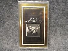 Dejavu The Gold Collection Cassette Tape Louis Armstrong NOS SEALED 5-103-4