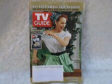October 9, 2005 TV Guide-Last Ever Small-Size Guide - Reba McEntire