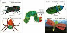 Eric Carle VERY Hungry Series Collection Set Books 1-5 Hardcover Eric Carle New!