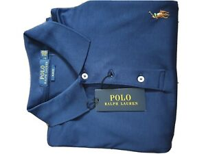 Mens ralph lauren polo shirt large Slim Fit
