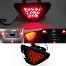 F1 style Red 12 LED Flashing Blinker Third Tail Brake Stop Light Safety Fog Lamp