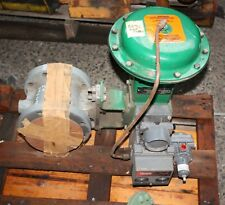 """FISHER 4"""" DN100 VEE-BALL V150 SIZE 4 control valve actuator DVC5020 Positioner"""
