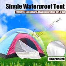 Single Waterproof Tent Portable Outdoor Camping Hiking Fishing Bivv