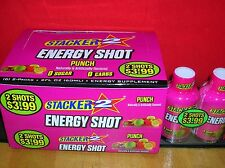 72-PUNCH STACKER 2 - ENERGY SHOT (WAS 6 HOUR POWER) FRESH-SAVE $$ HERE/FAST SHIP
