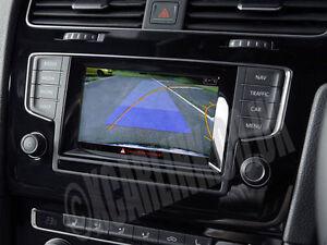 VW Golf Mark VII 7 / Skoda Octavia Rear Camera Interface with Dynamic Guidelines