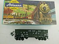 HO scale Athearn Buckeye Rail Gang Chesapeake & Ohio 2 bay hopper  Vintage