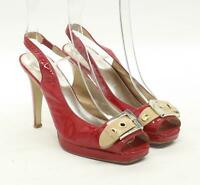 Moda In Pelle Womens EU Size 38 Red Heels