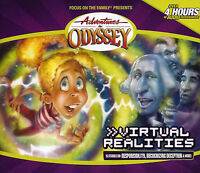 NEW Virtual Realities #33 Adventures in Odyssey 4 Audio CD Vol Set Unabridged