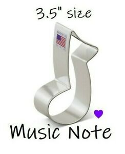 Music Note Cookie Cutter, Makes A Great Teacher Gift, FREE SHiPPiNG