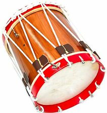 "CIVIL WAR DRUM SDC COLONIAL MARCHING REVOLUTIONARY MEDIEVAL 14"" INCH SNARE RED"