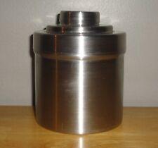 """Vintage Nikor Stainless Steel Film Reel Dark Room Developing Canister 4.5"""" Tall"""