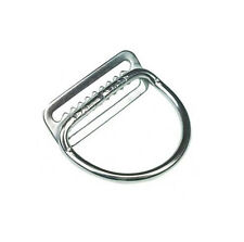 "Dive Rite Stainless Steel 2"" D-Ring Welded Bend 45° (Weight Belt SS S/S 2in)"