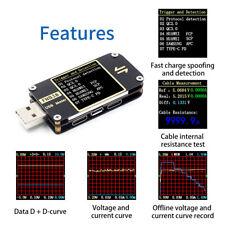 USB Tester Strom Messgerät Voltmeter Bildschirmwechsel Praktisch Nützlich