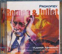 Prokofiev Romeo And Juliet CD NEW Vladimir Ashkenazy Royal Philharmonic