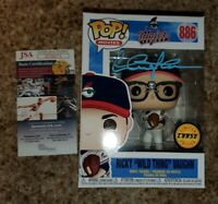 Charlie Sheen Signed RICKY VAUGHN MAJOR LEAGUE CHASE FUNKO POP JSA AUTHENTICATED