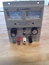 Lambda LP-413A-FM DC Regulated Power Supply 0-60V, 0.45 AMP
