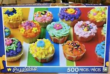 Jigsaw Puzzle Colorful Cupcakes Puzzlebug 500 Pieces Complete