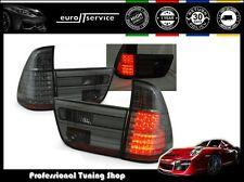 FEUX ARRIERE ENSEMBLE LDBM23 BMW X5 E53 1999 2000 2001 2002 2003 SMOKE LED