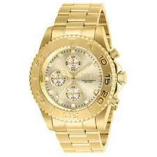 Reloj de Pulsera Invicta para Hombre Pro Diver Cronógrafo Cuarzo Oro Amarillo Pulsera De Acero Inoxidable 28683