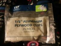 "75 nos 5//8/"" Plywood SPACING CLIPS Tamlyn USA steel galvanized PCS58 1//8/"" gap"