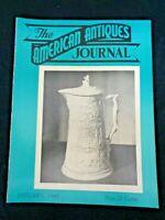1948 AMERICAN ANTIQUES JOURNAL Mettlach Beer Steins Almanacs Octagon House WI