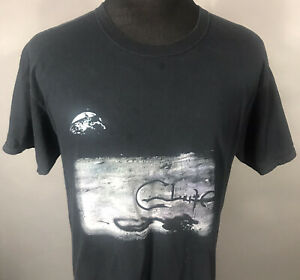 Clutch Adult Large Black And Gray Band T Shirt Concert Tour Moon Gildan Tee