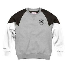 Oakland Raiders NFL Mitchell & Ness Men's Grey Men Sweatshirt