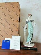 "G. Armani Figure Figurine Statue Sculpture ""Morning Rose"" Lady Flowers, Limited"